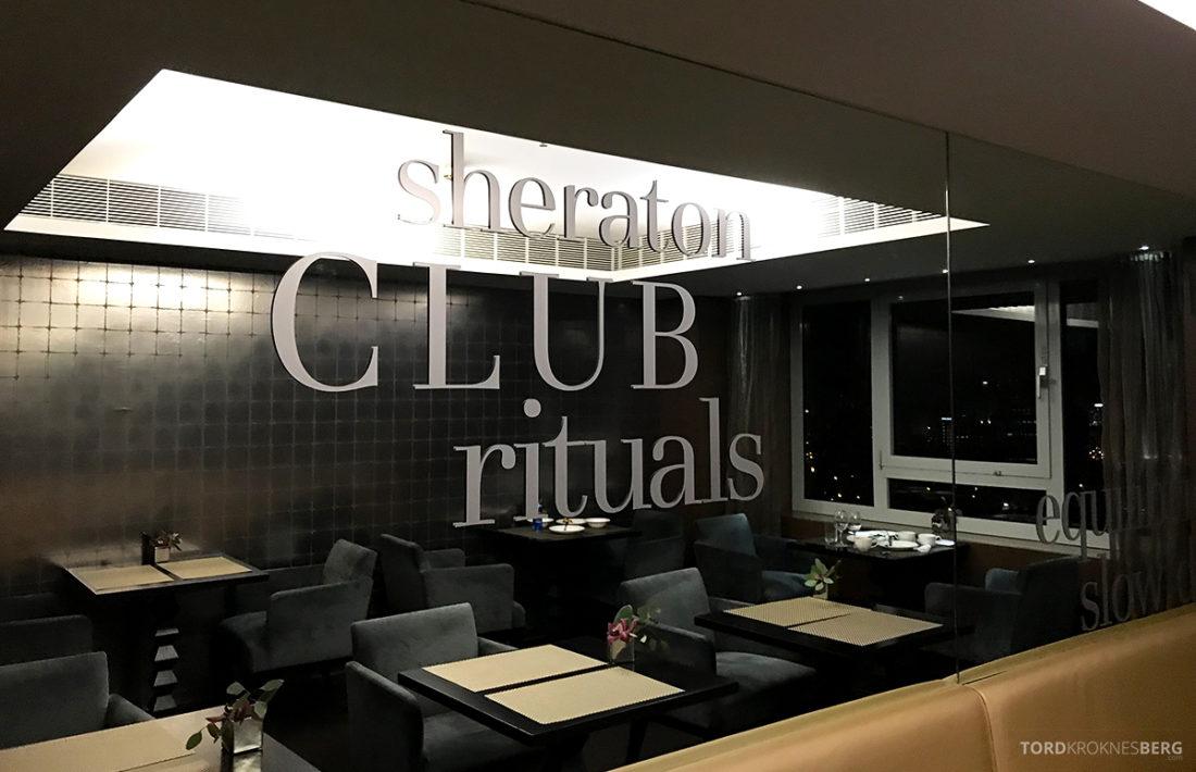 Sheraton Lisboa Hotel Club Lounge detaljer