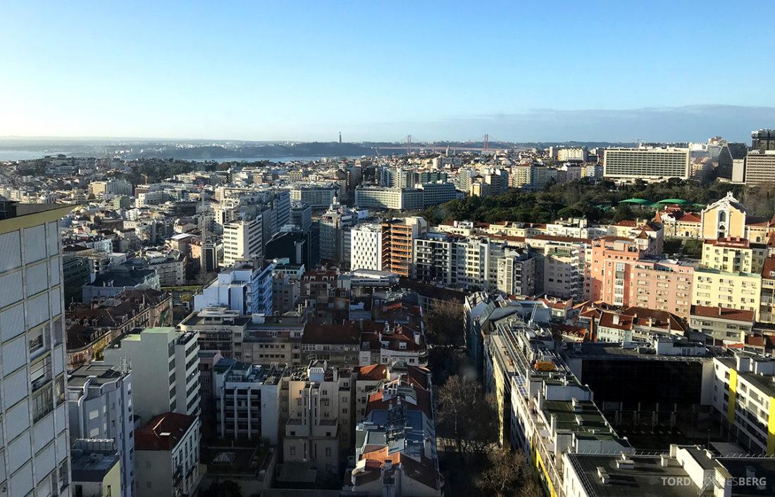 Sheraton Lisboa Hotel Club Lounge utsikt