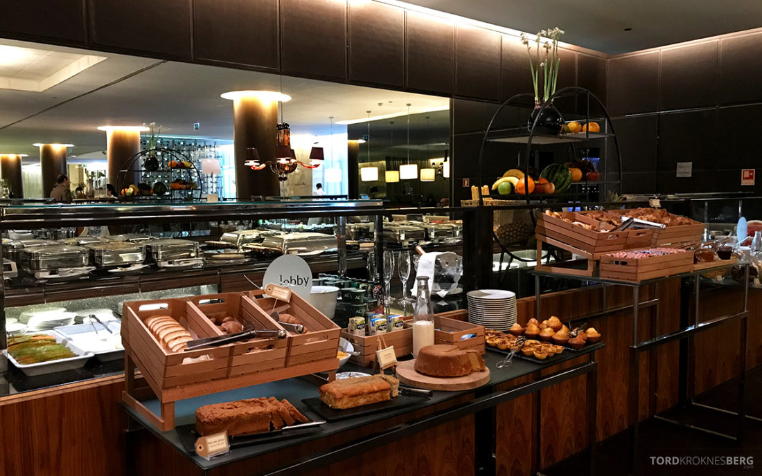 Sheraton Lisboa Hotel frokostbuffet