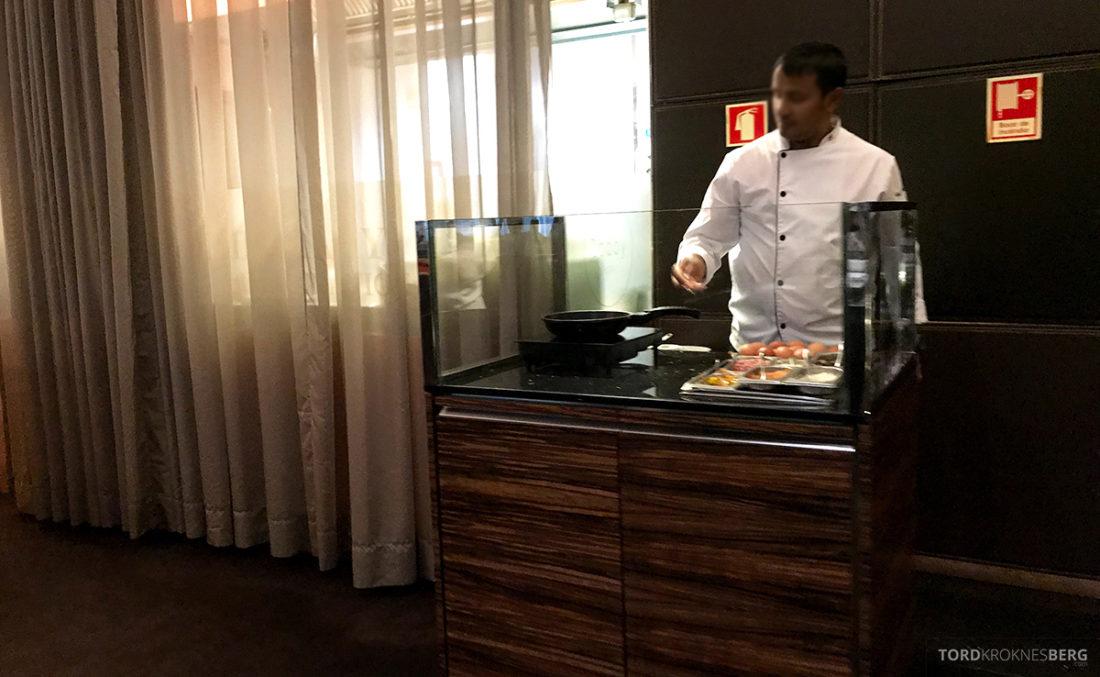 Sheraton Lisboa Hotel frokost omelett