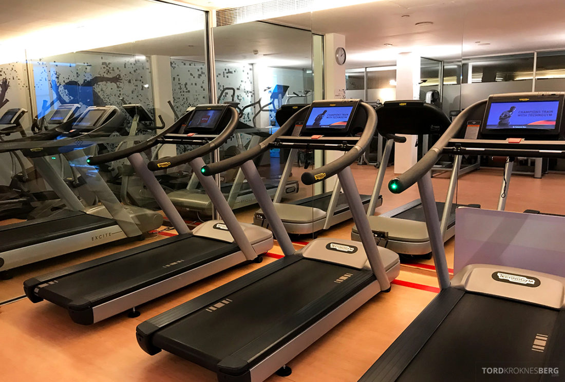 Sheraton Lisboa Hotel tredemøller gym