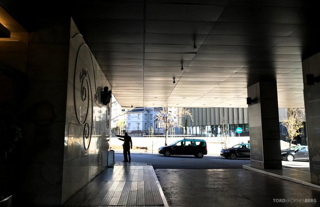 Sheraton Lisboa Hotel hovedinngang