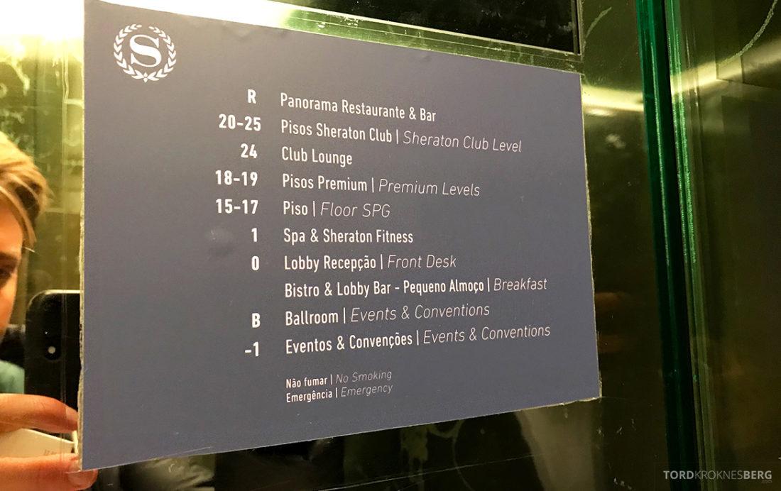 Sheraton Lisboa Hotel oversikt