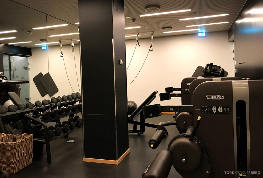 The Thief Spa Gym Oslo trim