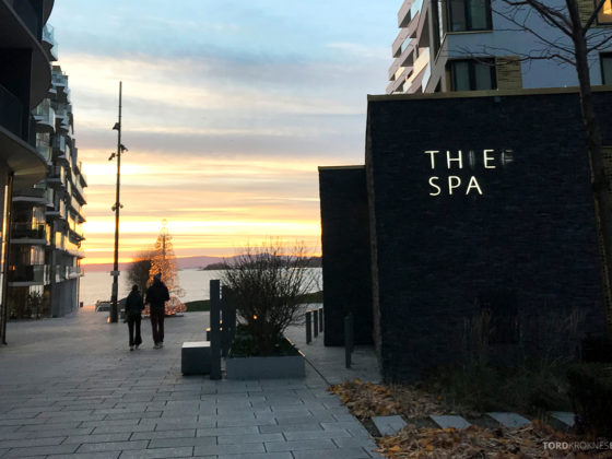 The Thief Spa Gym Oslo fasade