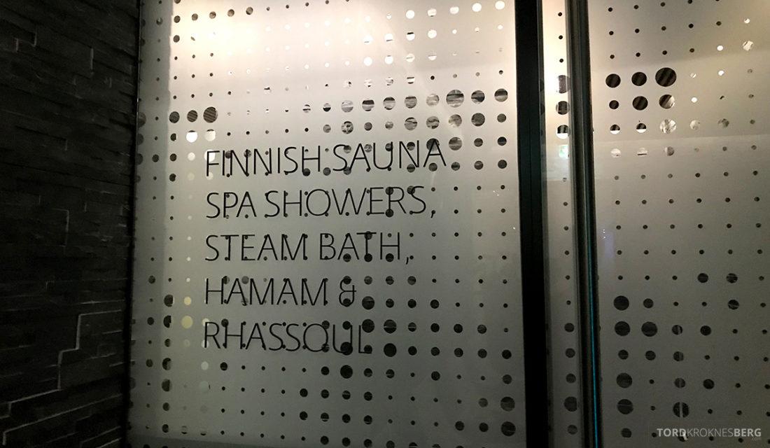 The Thief Spa Gym Oslo innhold