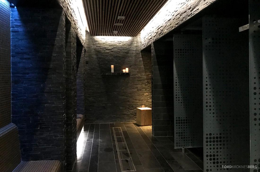 The Thief Spa Gym Oslo spa-dusj