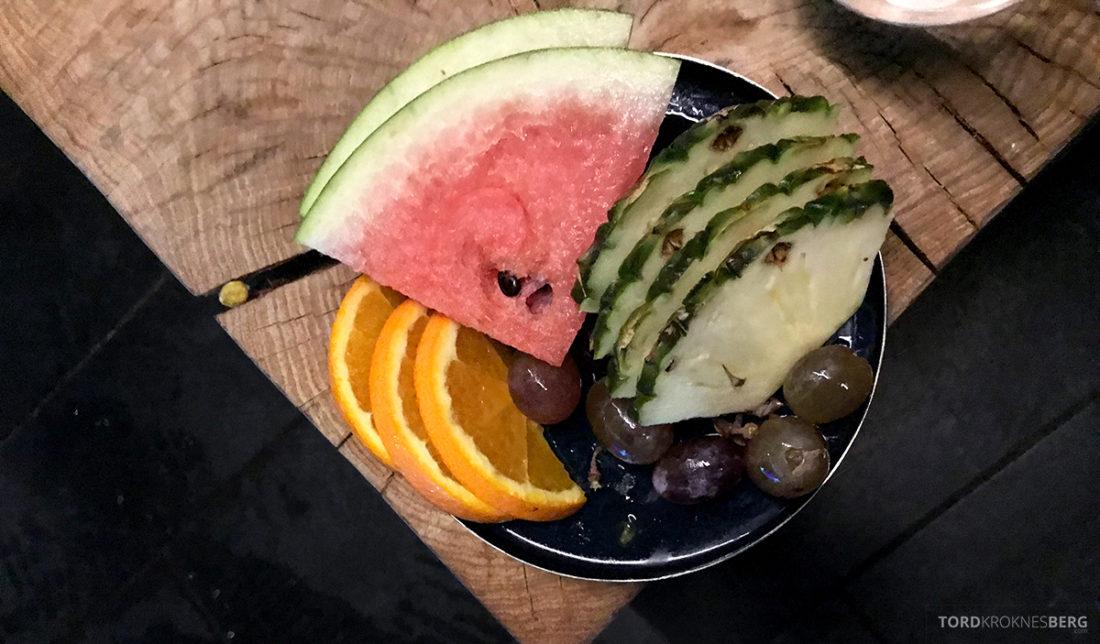 The Thief Spa Gym Oslo frukt