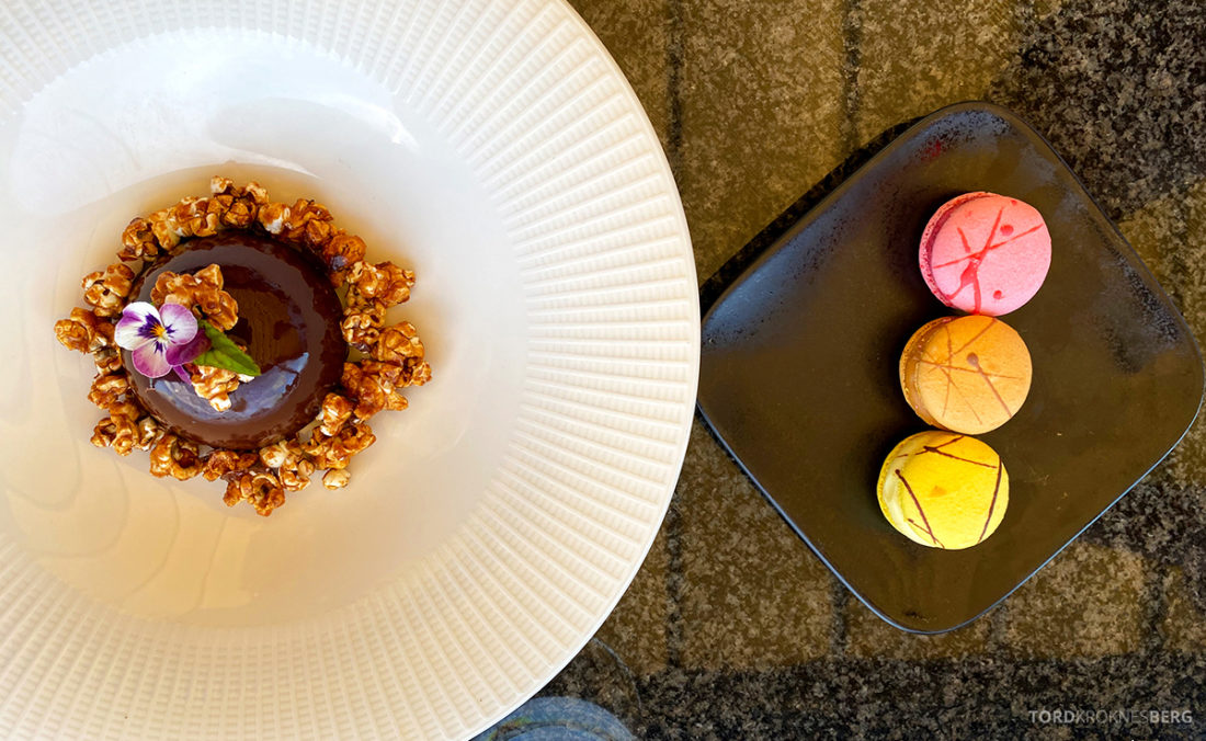 Thief Roof Grill Restaurant Oslo dessert