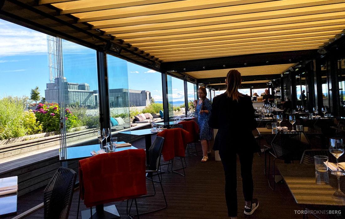 Thief Roof Grill Restaurant Oslo velkommen