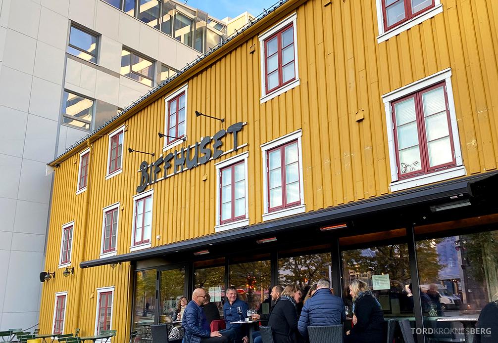 Biffhuset Skarven Tromsø Restaurant utenfor