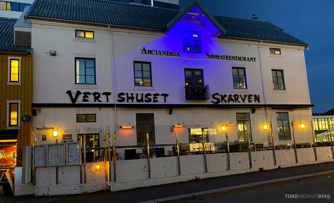 Biffhuset Skarven Tromsø Restaurant fasade