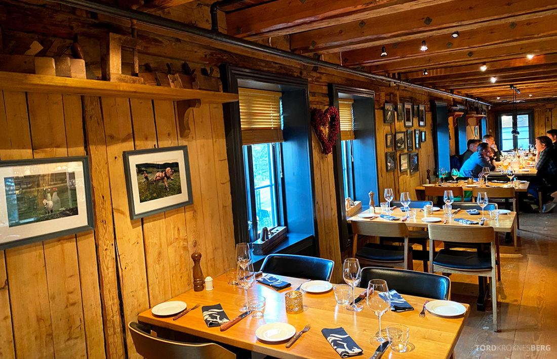 Biffhuset Skarven Tromsø Restaurant lokale