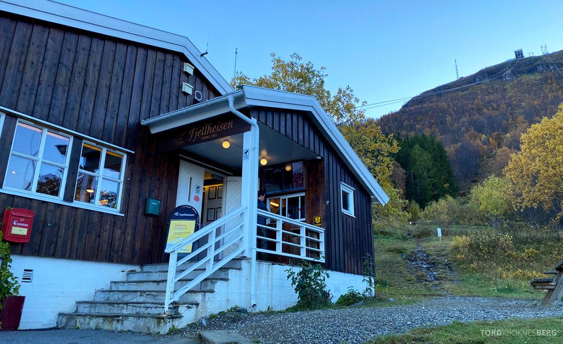 Fjellheisen Tur Tromsø inngang