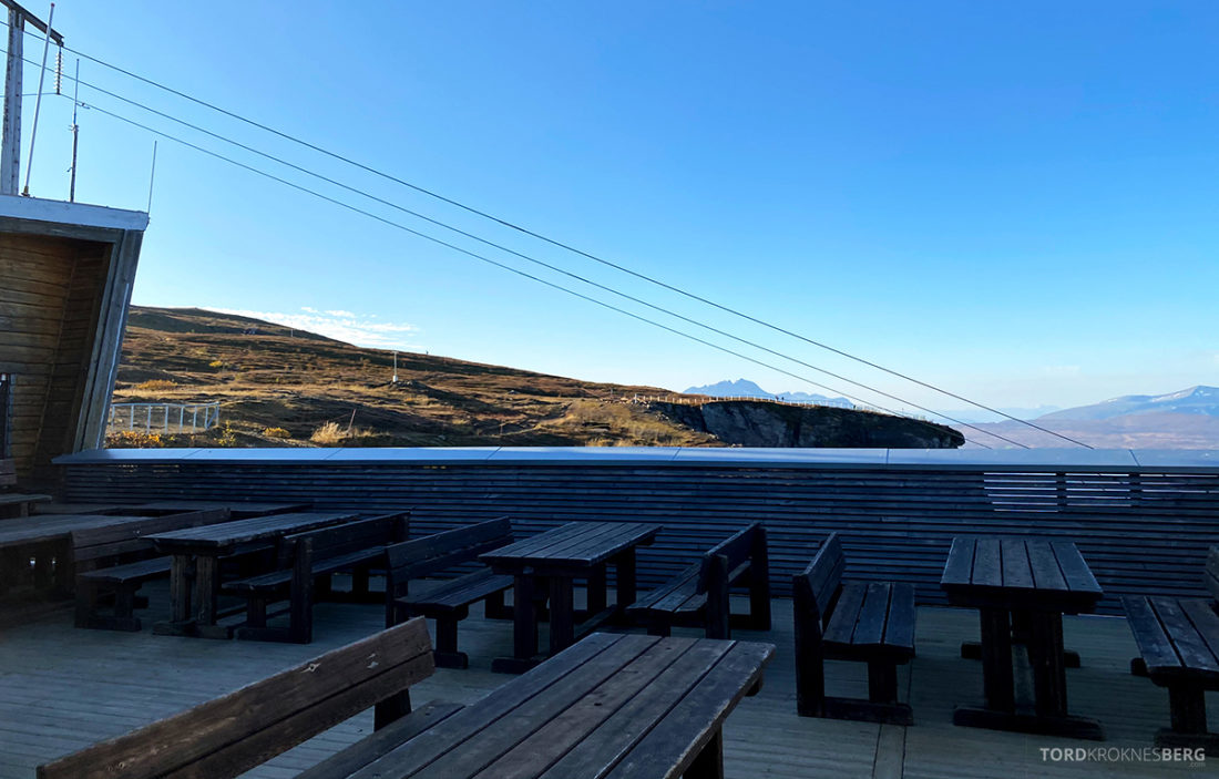 Fjellheisen Tur Tromsø bord platå