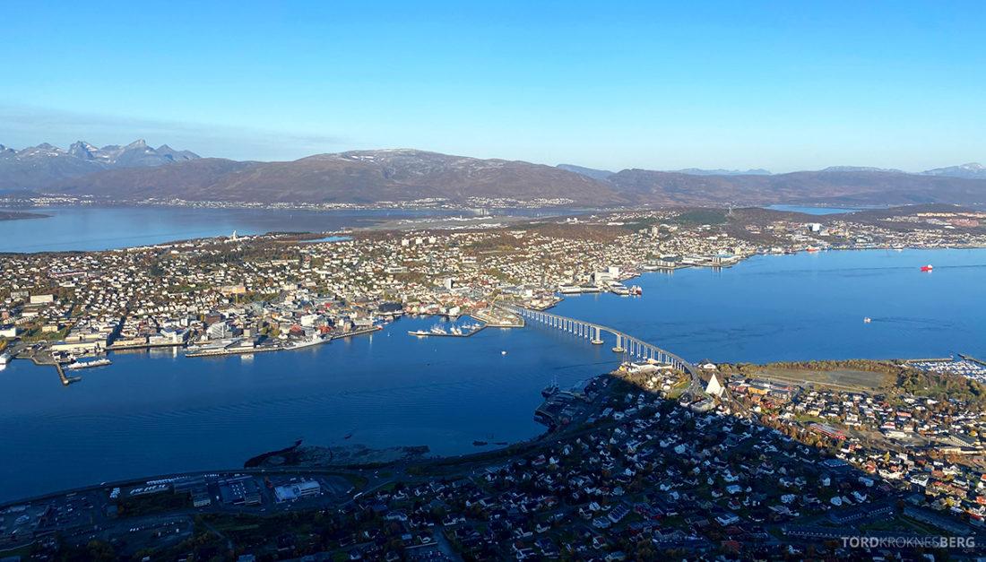 Fjellheisen Tur Tromsø utsikt
