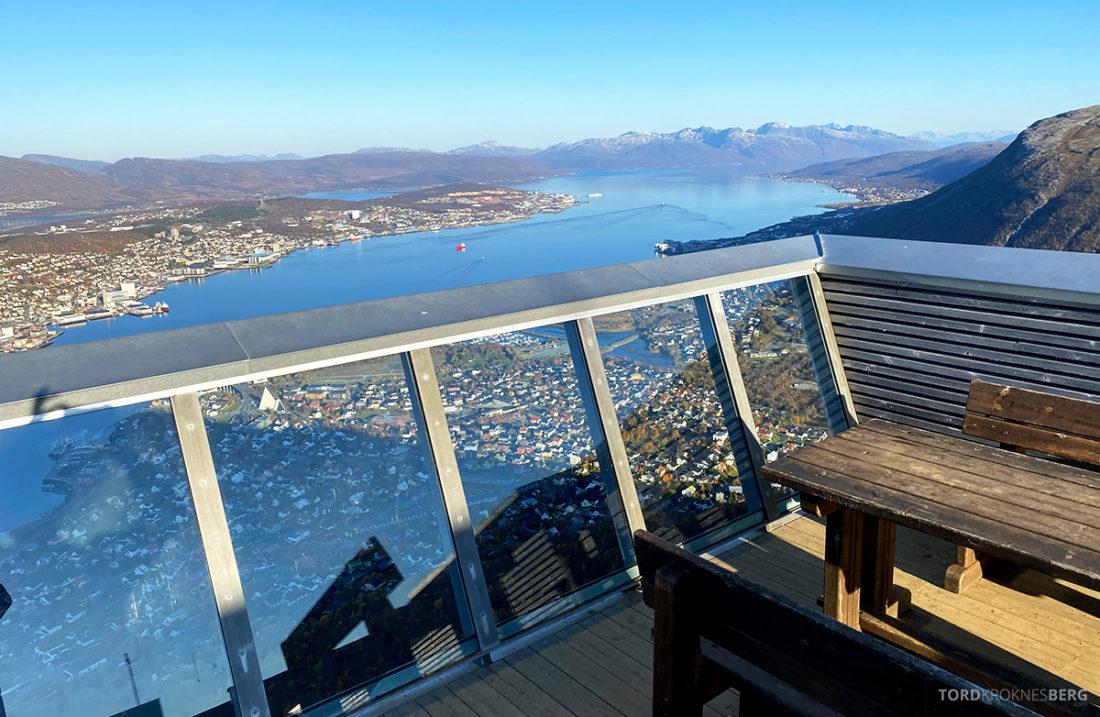 Fjellheisen Tur Tromsø glassvegg