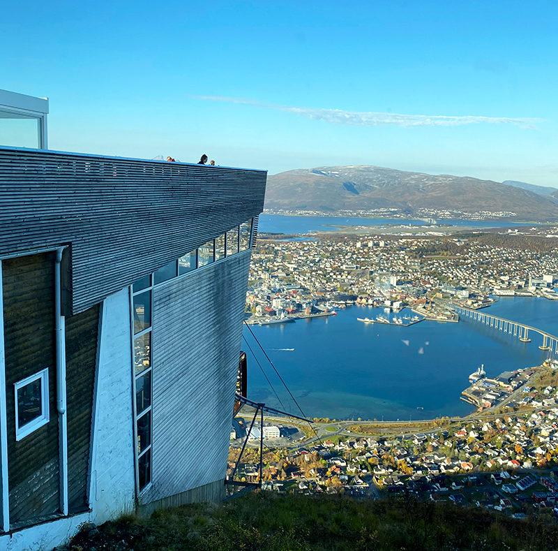 Fjellheisen Tur Tromsø bygg
