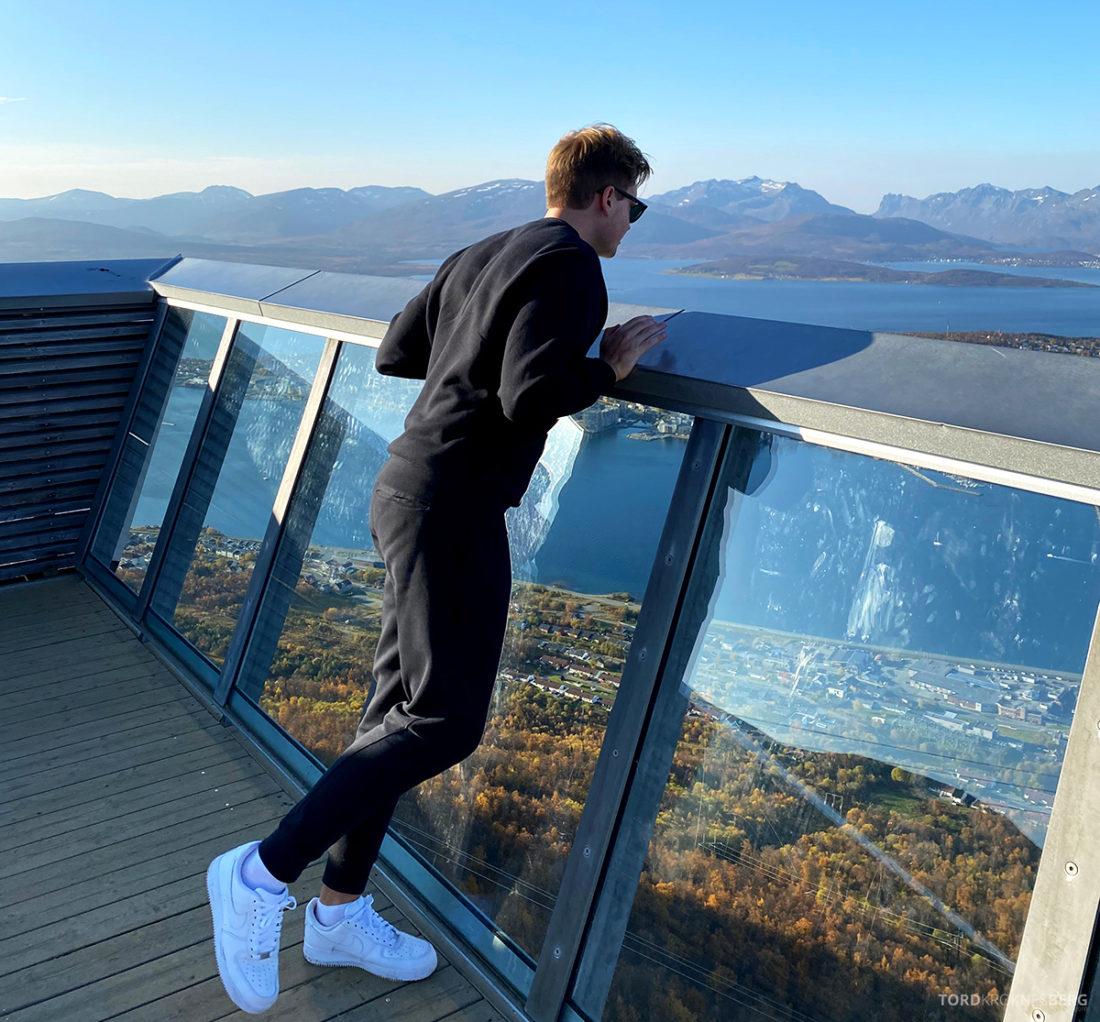 Fjellheisen Tur Tromsø Tord Kroknes Berg høydeskrekk