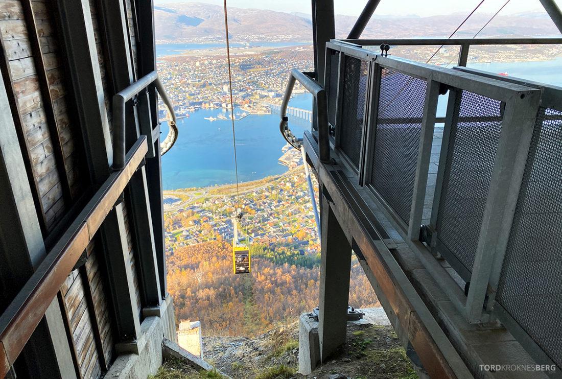 Fjellheisen Tur Tromsø vogn