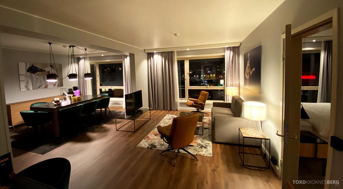 Radisson Blu Tromsø Hotel panorama suite