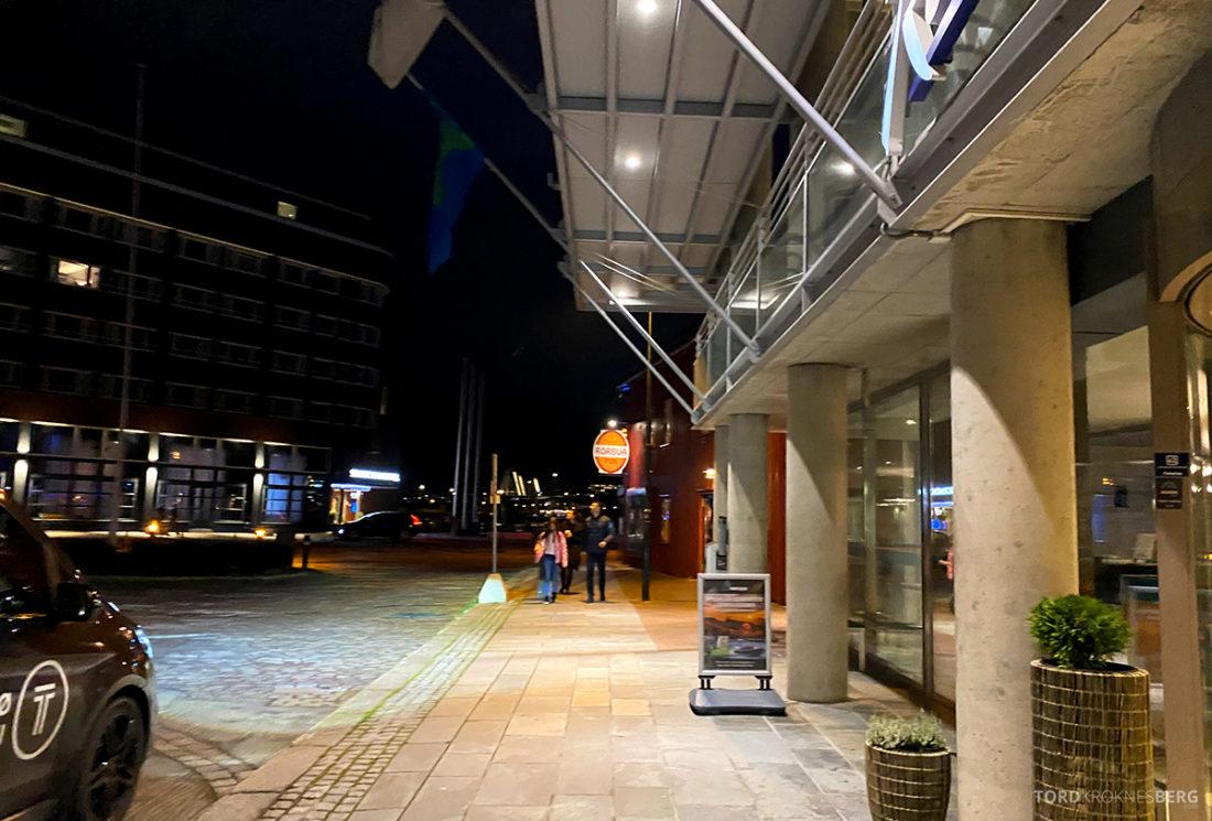 Radisson Blu Tromsø Hotel ankomst