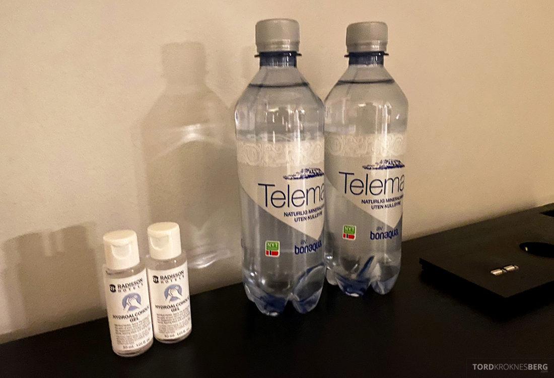 Radisson Blu Tromsø Hotel vann og antibac