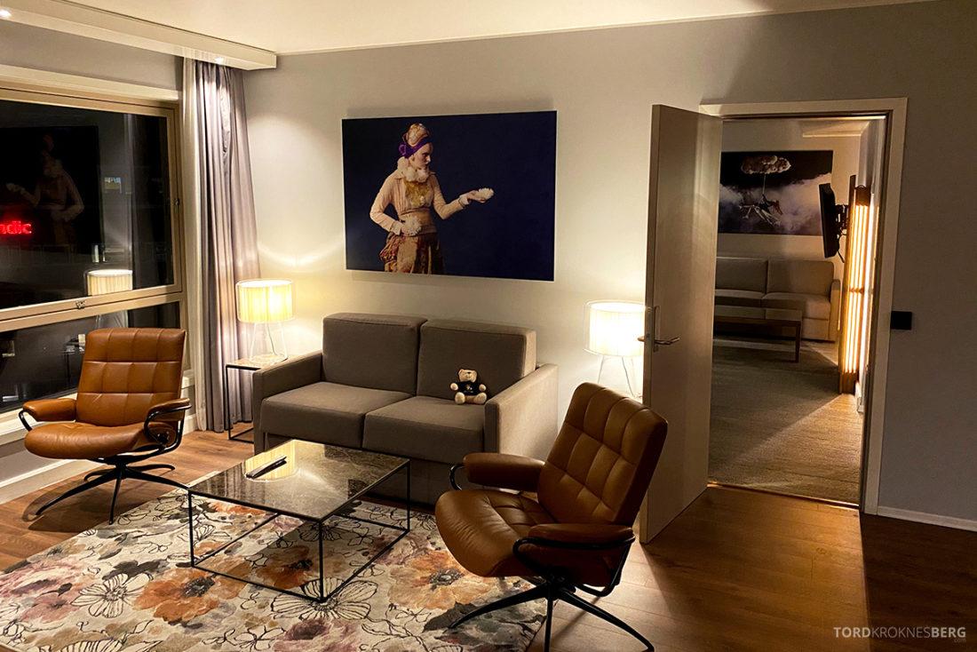 Radisson Blu Tromsø Hotel sofagruppe