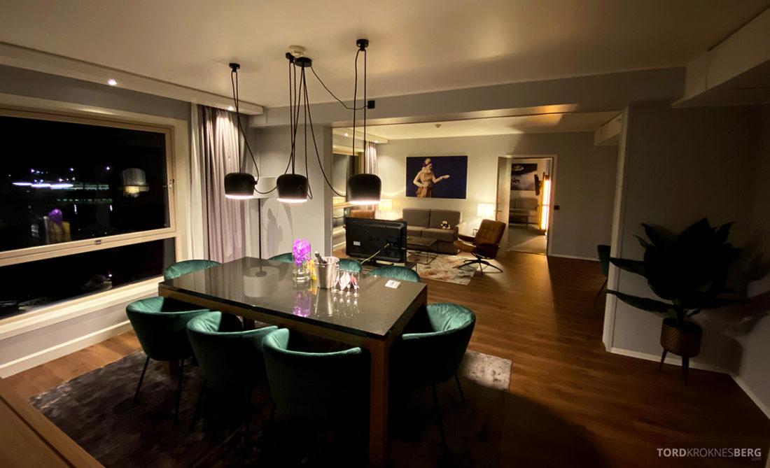Radisson Blu Tromsø Hotel oversikt stue