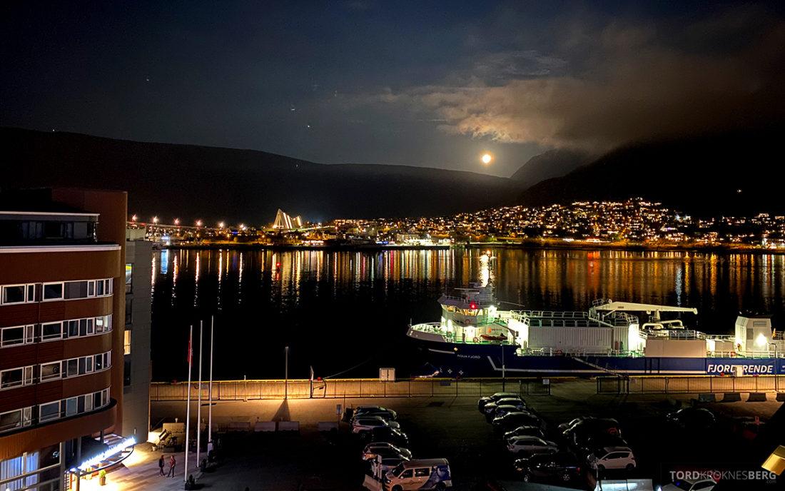 Radisson Blu Tromsø Hotel utsikt ishavskatedralen