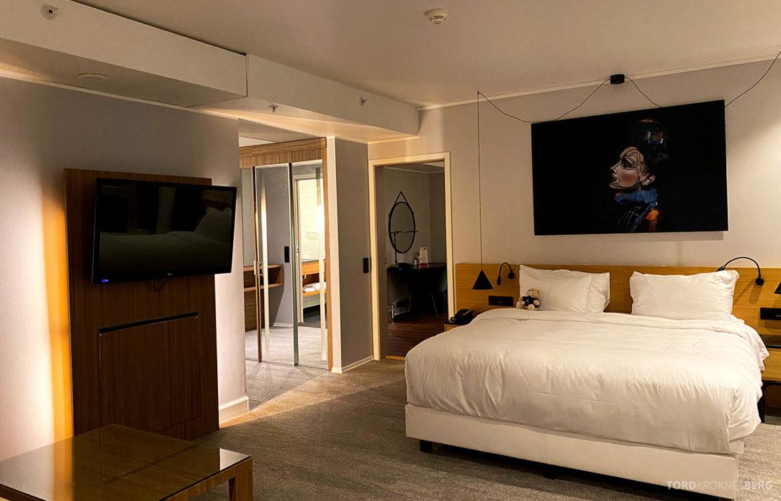 Radisson Blu Tromsø Hotel soveværelse