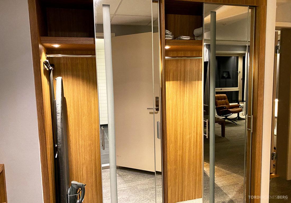 Radisson Blu Tromsø Hotel walk-in closet