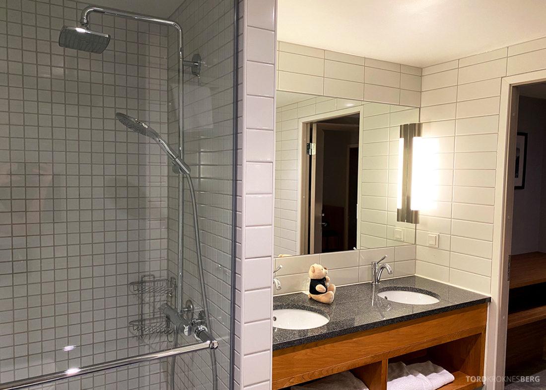 Radisson Blu Tromsø Hotel dusj