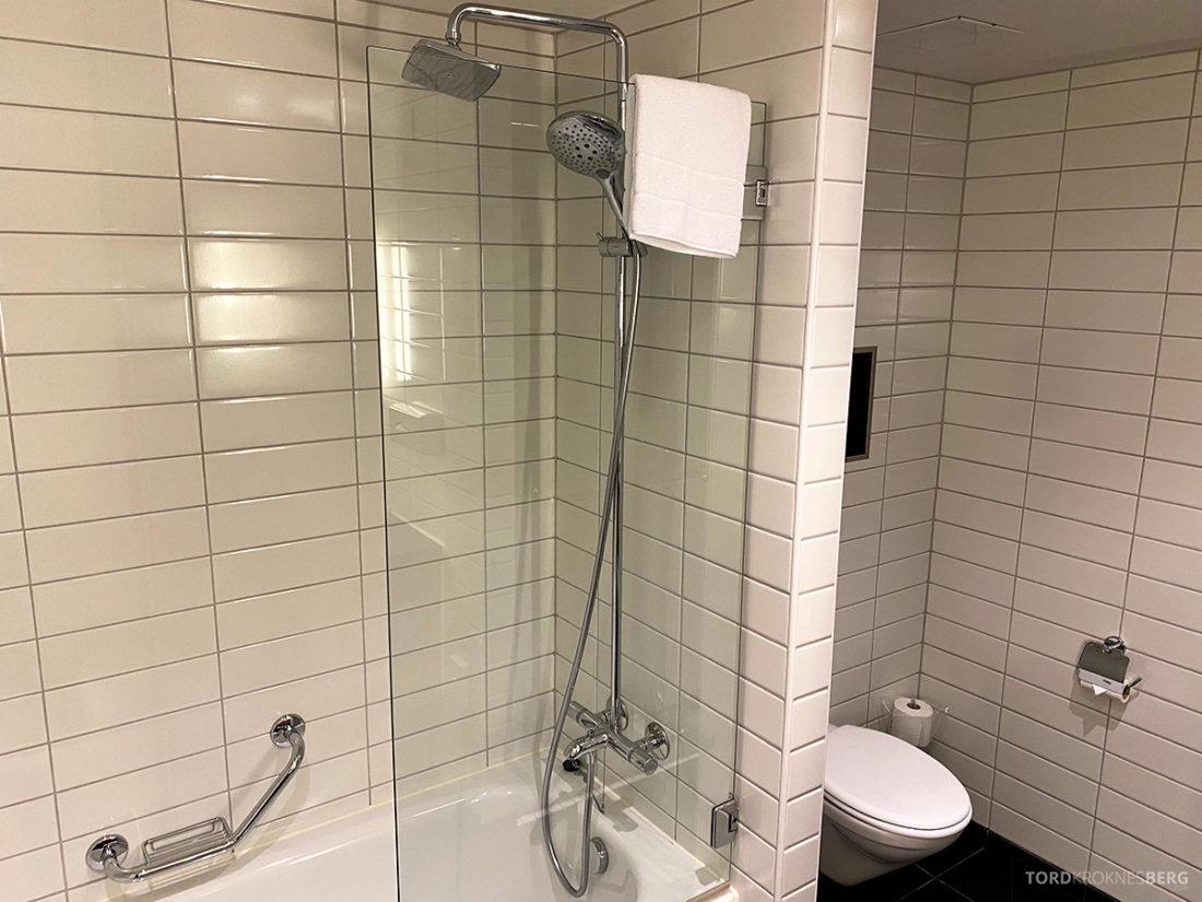 Radisson Blu Tromsø Hotel dusj og toalett