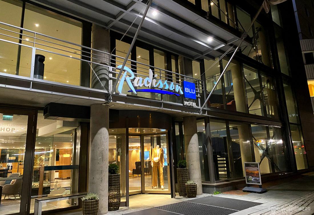 Radisson Blu Tromsø Hotel inngangsparti