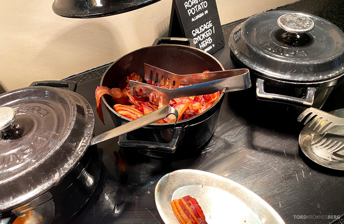 Radisson Blu Tromsø Hotel bacon