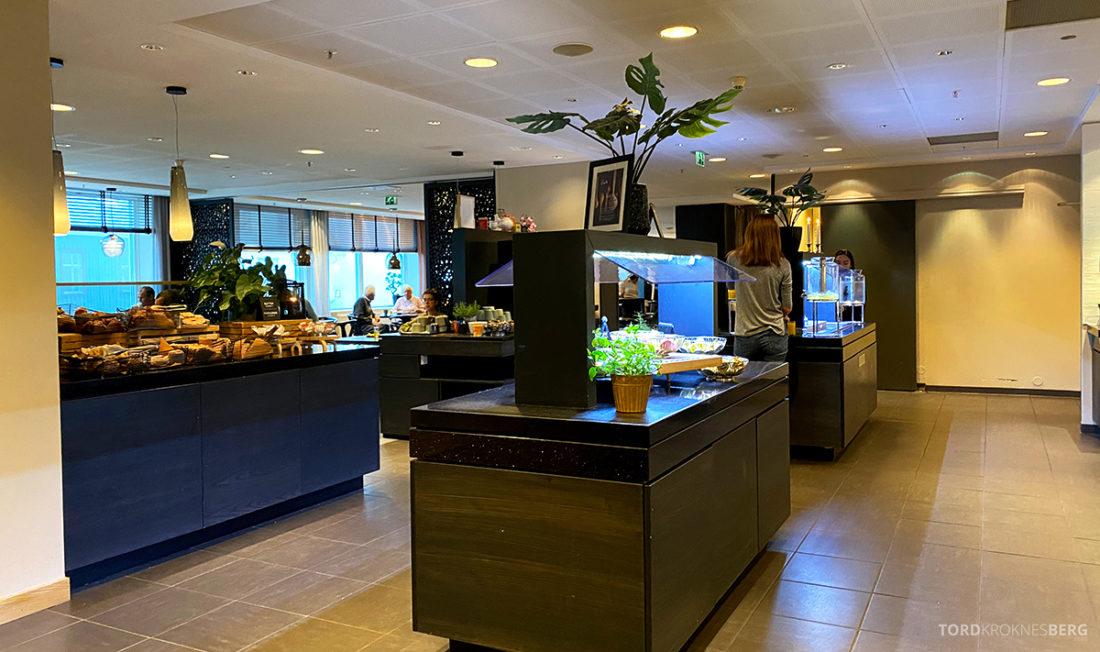 Radisson Blu Tromsø Hotel frokostbuffet oversikt