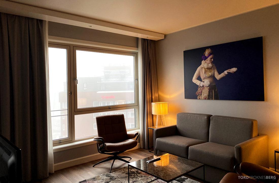 Radisson Blu Tromsø Hotel sofakrok