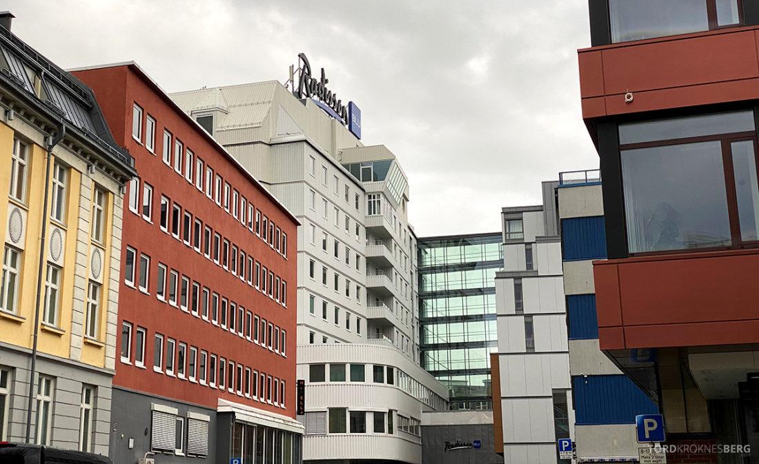 Radisson Blu Tromsø Hotel fasade