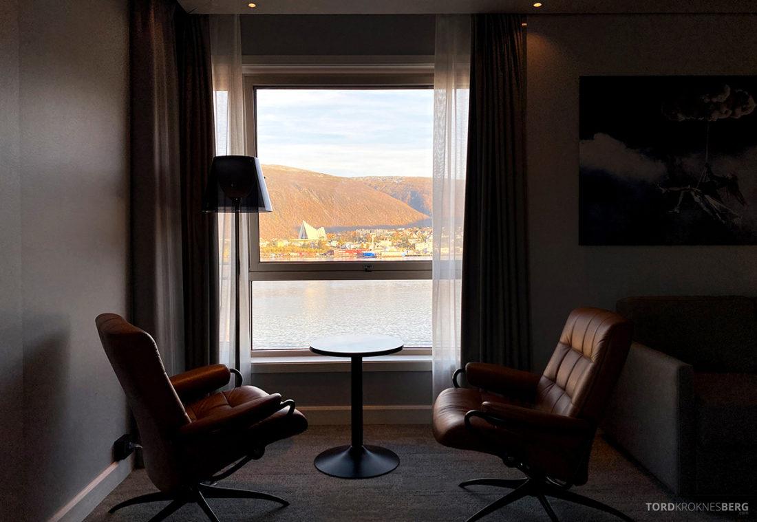 Radisson Blu Tromsø Hotel utsikt suite
