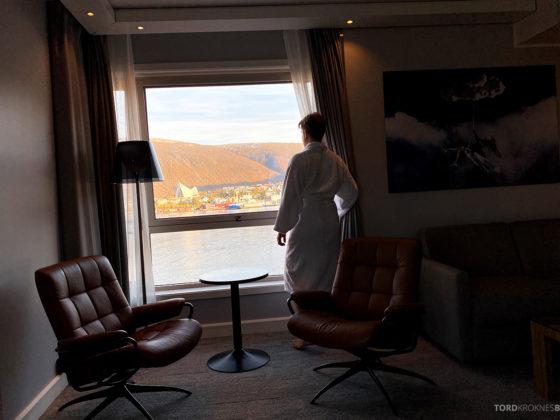 Radisson Blu Tromsø Hotel Tord Kroknes Berg utsikt