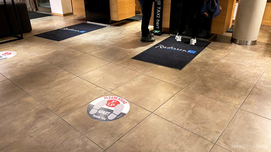 Radisson Blu Tromsø Hotel hold avstand