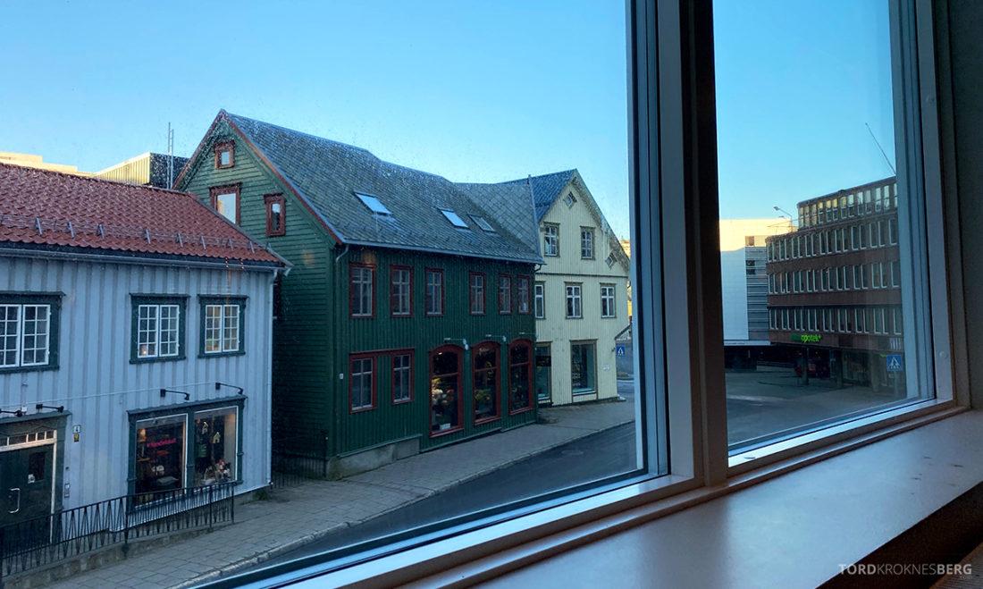 Radisson Blu Tromsø Hotel utsikt frokostsal