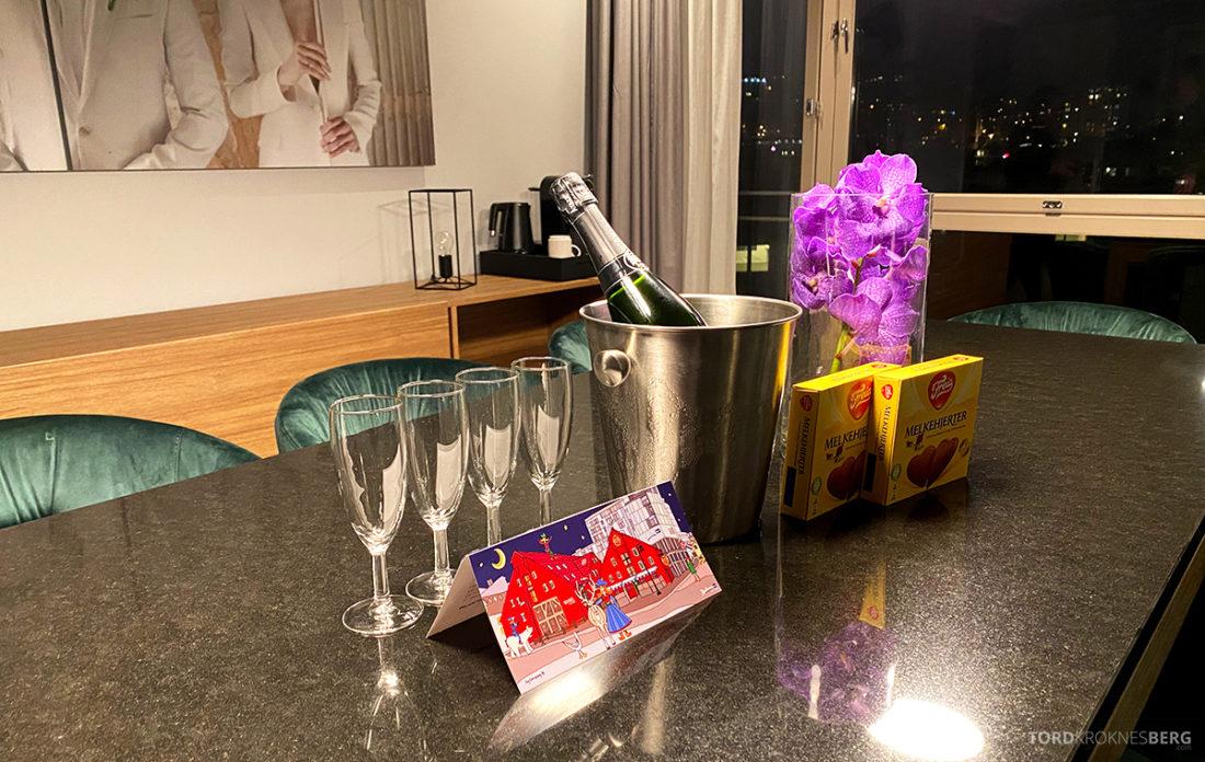 Radisson Blu Tromsø Hotel velkomstgave