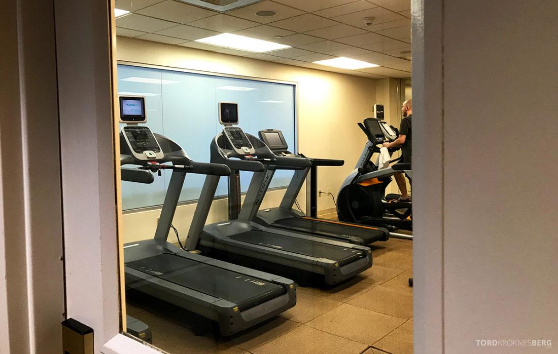 Renaissance Newark Airport Hotel gym
