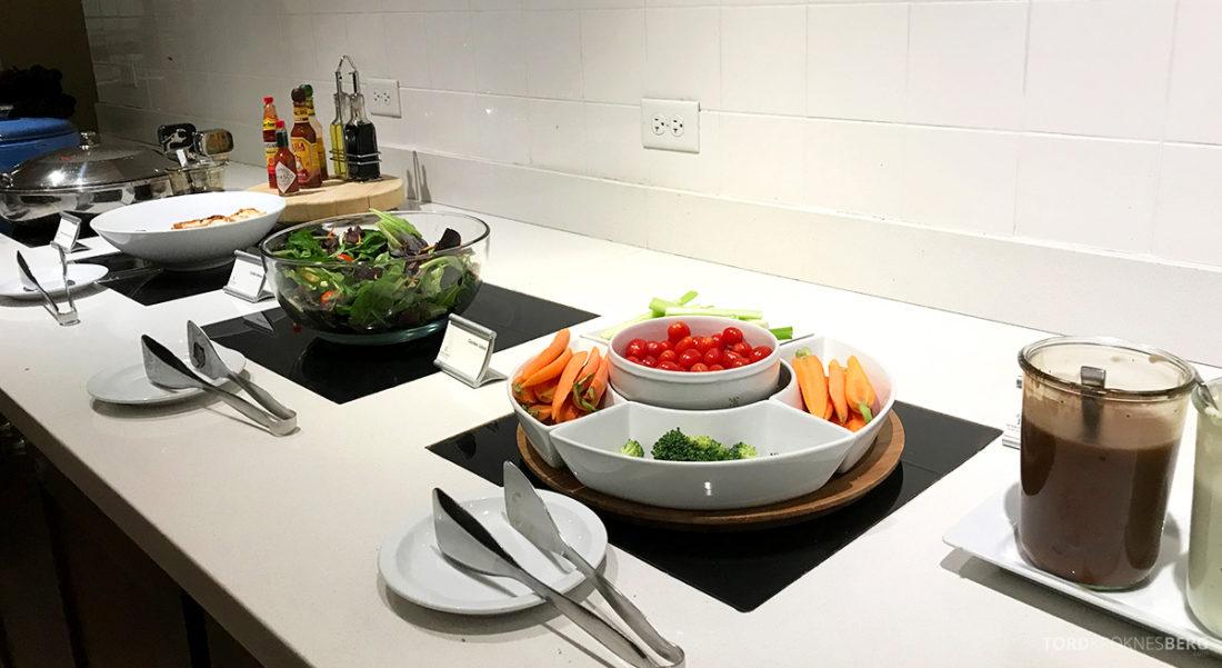 Renaissance Newark Airport Hotel Club Lounge grønnsaker