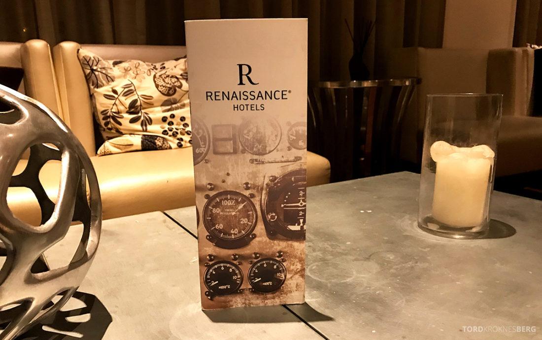 Renaissance Newark Airport Hotel Club Lounge drikkemeny