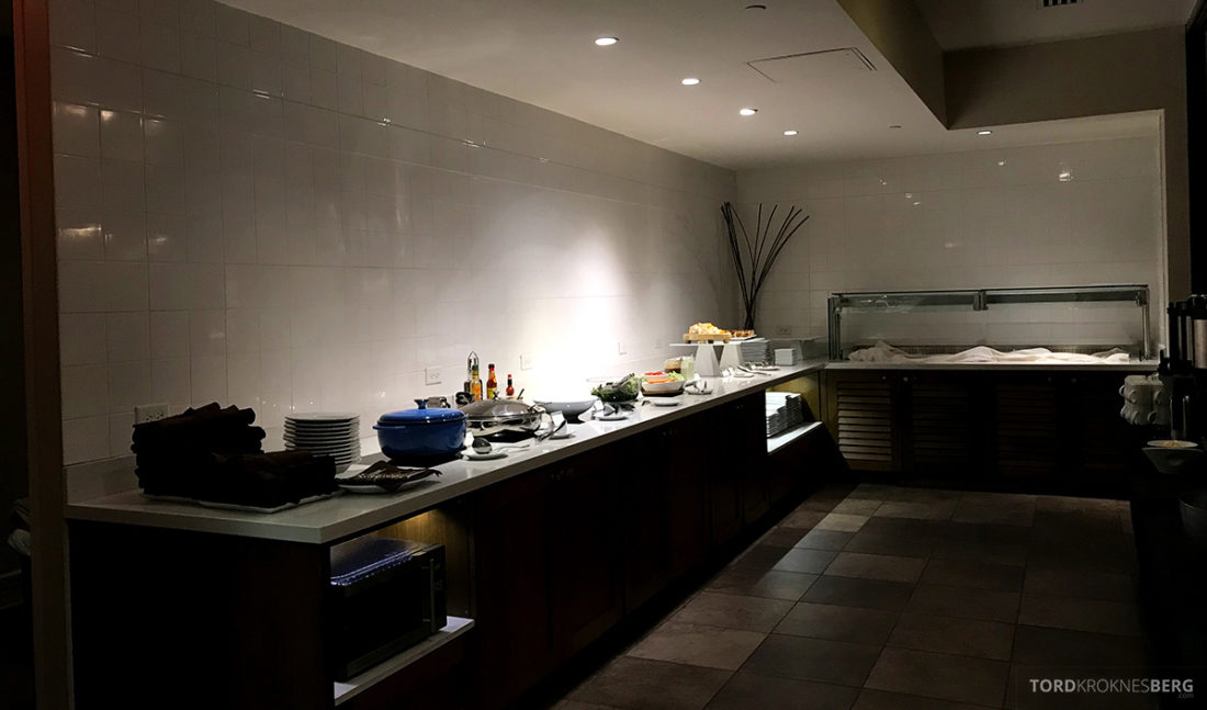 Renaissance Newark Airport Hotel Club Lounge hors d'oeuvre