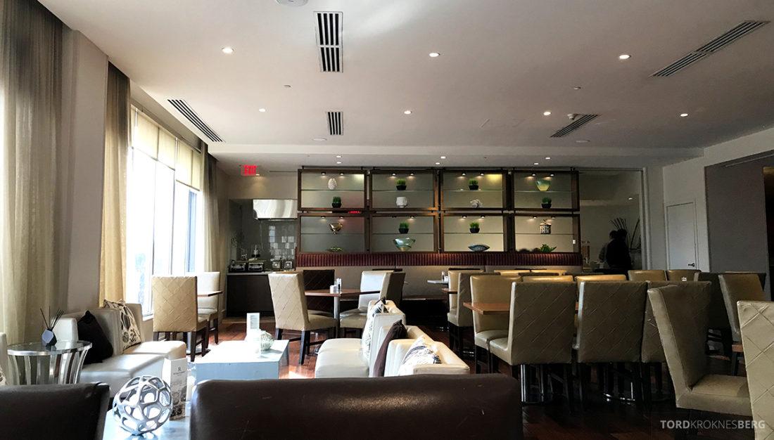 Renaissance Newark Airport Hotel lounge oversikt