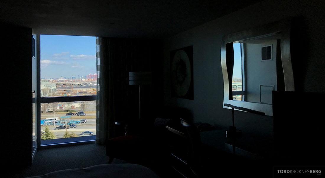 Renaissance Newark Airport Hotel utsikt værelse